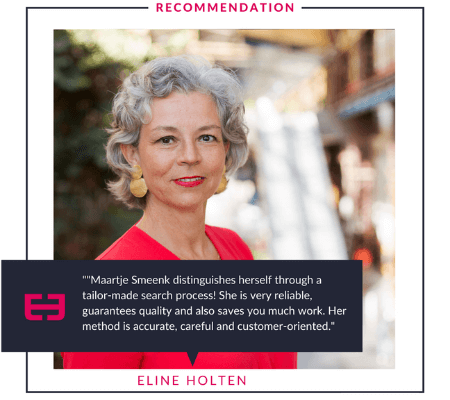 Eline Holten's Recommendation of Smeenk's Personal Assistants
