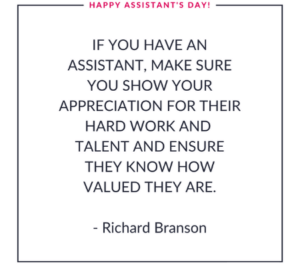 Happy Assistant's Day 2021
